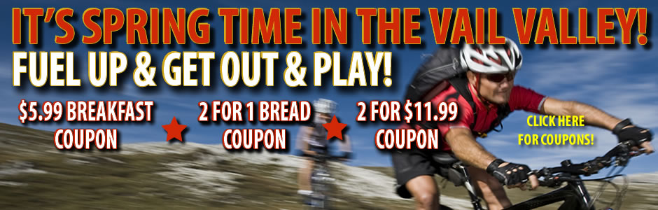 MORE COUPONS FOR OUR LOCALS IN THE VAIL VALLEY!